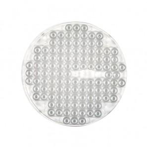 원형 투광등렌즈
